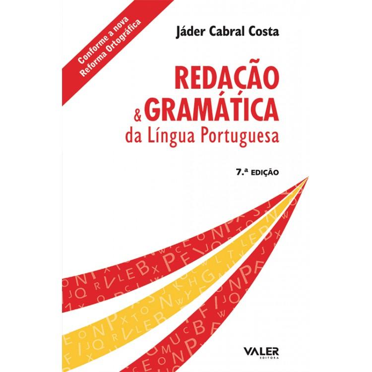 REDAÇÃO E GRAMÁTICA DA LÍNGUA PORTUGUESA